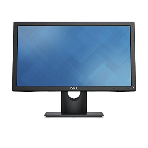 DELL E2016HV 50,8 cm (20 Zoll) Monitor (VGA, DisplayPort, LED, 5ms Reaktionszeit) schwarz