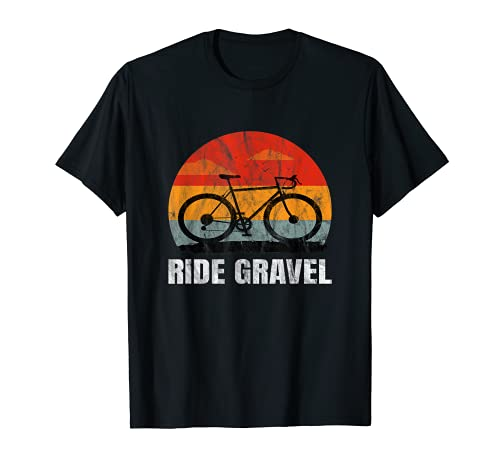 Gravelbike - Ride Gravel Cyclocross Road Bike Gravel Bike Maglietta