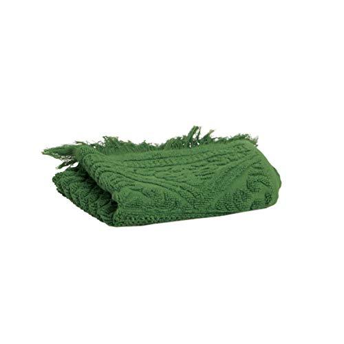 Vivaraise - Serviette de Toilette - Serviette de Toilette Douce - Serviette de Toilette 100% Coton - Serviette de Toilette Mains et Visage - 50 x 100 - Cactus Vert - Zoe