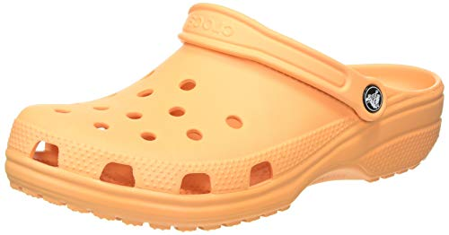 CROCS Classic, Tongs Loisirs et Sportswear Unisexe Mixte Adulte, Orange (Cantaloup), 45 EU