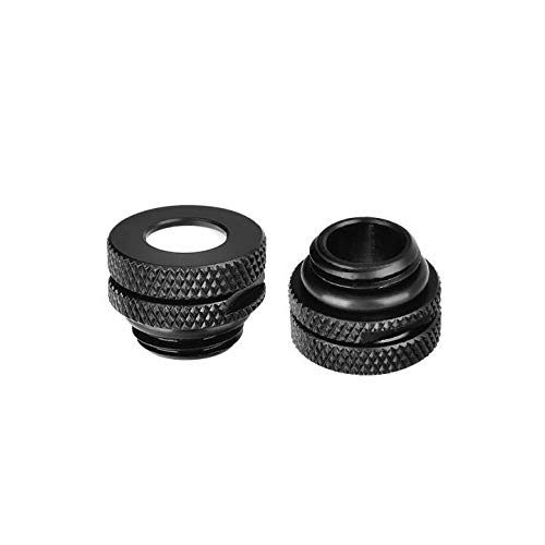Thermaltake CL-W086-CU00BL-A Pacific G1/4 Pressure Equalizer Stop Plug with O-Ring Black