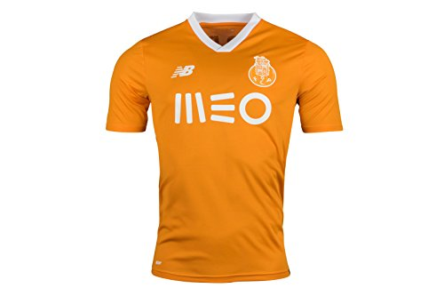 New Balance Herren 2017/2018 Fc Porto Auswärttrikot, Flame Orange, XL