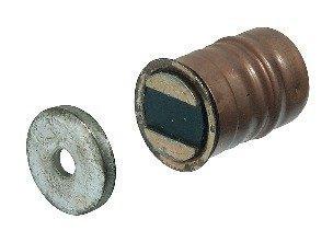 GedoTec® Pression magnétique Meubles aimant Gobemouche de meubles à Perceuse 5 kg Tenue à l'arrachement acier nickelé fabriqué en Allemagne