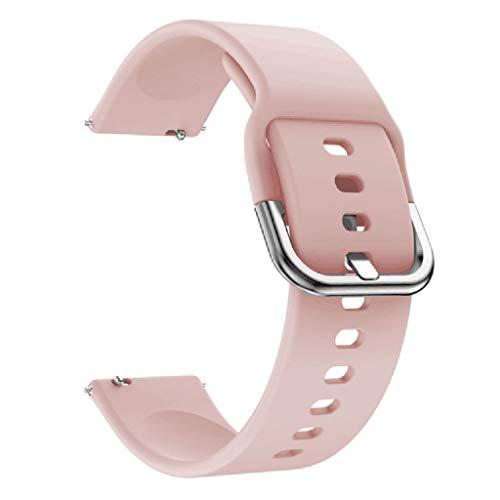 kdjsic Reemplazo de Correa de Reloj Deportivo de Silicona Suave para Pulsera de Reloj Inteligente Amazfit Bip Accesorios de 20 MM