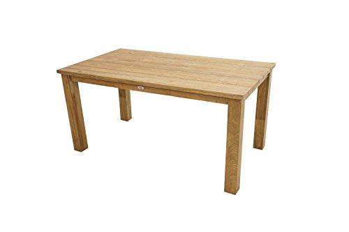 Ploß Ploß Outdoor furniture Picton Rustikal-Dining-Tisch, Old-Teak, 160 x 90 x 75 cm
