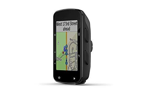 L 520 Plus Advanced GPS fietscomputer voor competitie en navigatie, zwart