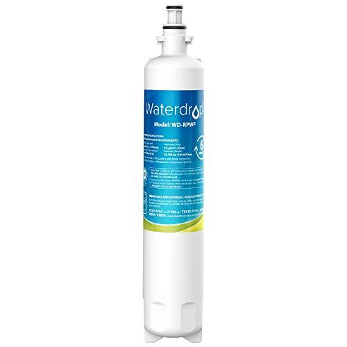 Waterdrop RPWF Refrigerator Water Filter, Compatible with GE RPWF, RWF1063, RWF3600A, WSG-4, DWF-36, R-3600, MPF15350, OPFG3-RF300, WF277
