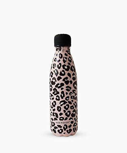 Alice Scott Pink Print - Botella de agua aislante