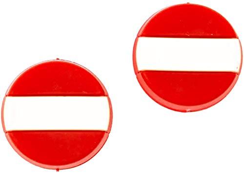 4MA Tennis Dämpfer 2er Sets Nationalflaggen Verschiedene Länder (Deutschland, Frankreich, Österreich, Italien, USA, Schweiz und Spanien) (Österreich)