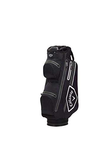 Callaway Bags Golf Sac Chariot Chev Dry 2021, Noir/Blanc/Anthracite Adulte Unisexe, Taille unique