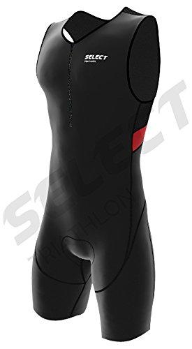 Traje de triatlón con acolchado CoolMax para hombre, de la marca Select