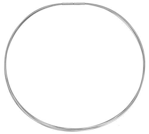 Ernstes Design Collana da Donna Acciaio Inossidabile DS10-42 42 cm