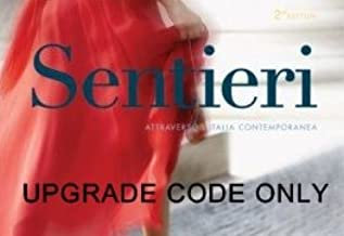 Sentieri, 2nd Edition UPGRADE CODE: add Supersite Plus to an Existing Supersite account. CODE ONLY