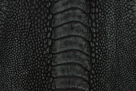 pelle Echte exotische Edelsteine, Zampa, schwarz, matt, Nubukleder, für Möbel, Schuhe, Taschen und Accessoires, Stühle aus Stoff (braun)