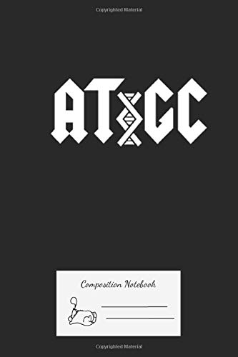 Composition Notebook: Acdc Dna Premium Journal And Logbook