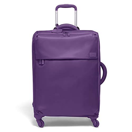 Lipault - Original Plume Spinner 65/24 Luggage - Medium Suitcase Rolling Bag for Women - Light Plum