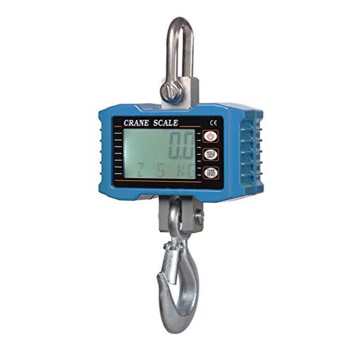 ZCY ES1008 Hoge precisiekraanweegschaal, 1000LB/2000LB, digitale hangende weegschaal, zware verplicht draagbare elektronische weegschaal, slim meetinstrument voor de boerderijfabriek
