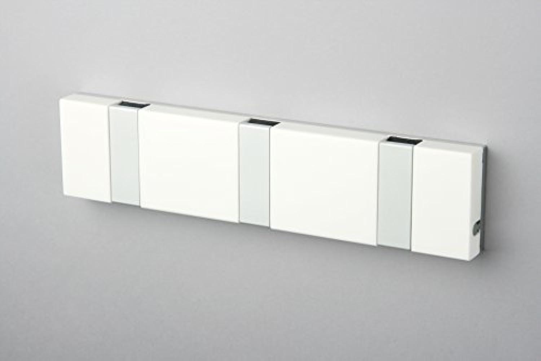 Knax Lite 3 Weiss Hakenleiste für Bad & Küche