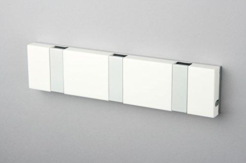 Lite   Perchero de pared para baño y cocina, color blanco
