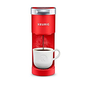 Keurig K-Mini Coffee Maker Single Serve K-Cup Pod Coffee Brewer 6 to 12 oz Brew Sizes Poppy Red