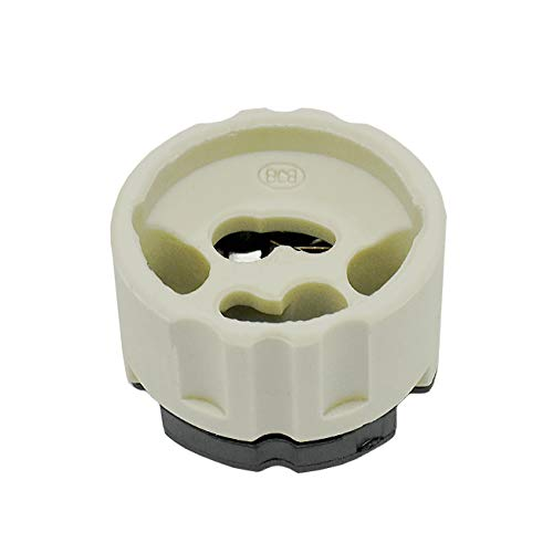 GU10 Halogenlampenfassung für Hochvolt Lampen Fassung mit Steckanschluss - hochwertige Qualität geprüft