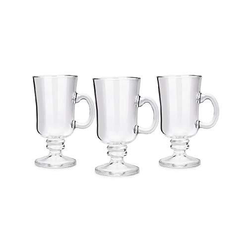 Conjunto de 3 Canecas Irish Coffee Pavillion 240Ml, 28,5 x 9,7 x 15 cm, Haus Concept