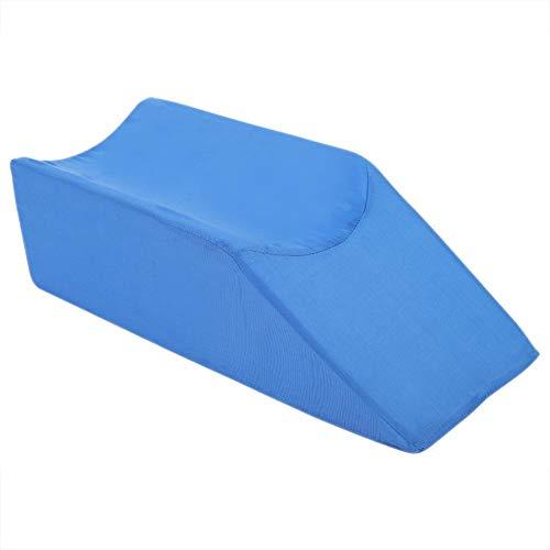 Cafopgrill Almohadilla para Elevador de piernas Espuma Soporte para reposapiernas Soporte para Almohadas Soporte para el Dolor de Rodilla Descanso Soporte para Almohadas para Dormir y Almohadas(Azul)