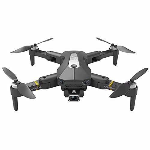 Drone con fotocamera 8k - Quadcopter Rc pieghevole con trasmissione di immagini Wi-Fi Lungo tempo di volo 20 minuti, kit mini drone con funzione Follow Me per principianti