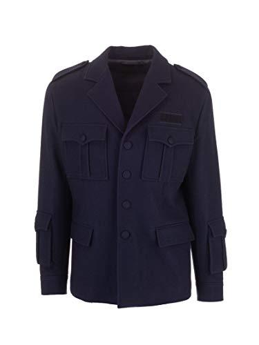 Prada Luxury Fashion Herren SGB230S1921UMTF0124 Blau Wolle Blazer   Herbst Winter 19