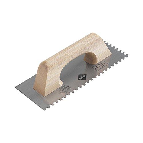 Rubi 65986 Peine de acero templado, Gris, 28 cm