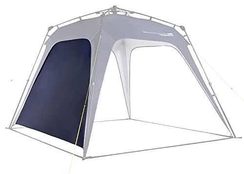 Lumaland x Where Tomorrow Pared Lateral para Gazebo de Camping - Carpa de jardín – Cenador para Patio – Ideal para Acampada/Festival – Instalación Fácil – Azul Marino