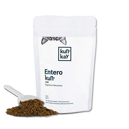 KUNKAY Enterokun Mild Gatos - 55 g | Suplemento para la Salud intestinal (regulador de la microbiota y antiinflamatorio)