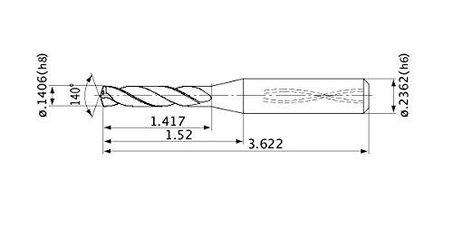 Mitsubishi Super Special SALE held Materials MVS0357X05S060 MVS Series Carbide Solid Max 65% OFF Dri