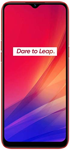 """Realme C3 - Smartphone de 6.5"""" LCD multi-touch, 2 GB RAM + 32 GB ROM, Procesador Helio G70 OctaCore, Batería de 5000mAh, Cámara Dual AI 12MP, Dual Sim, rojo [Versión ES/PT]"""