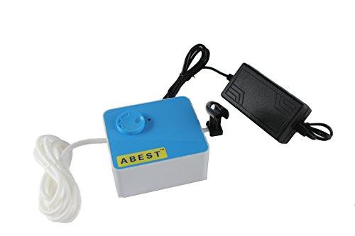 Abest Nouveau Portable Auto Start et arrêt automatique Compresseur Airbrush pour Hobby modèles Maquillage Tattoo pulvérisation bleu