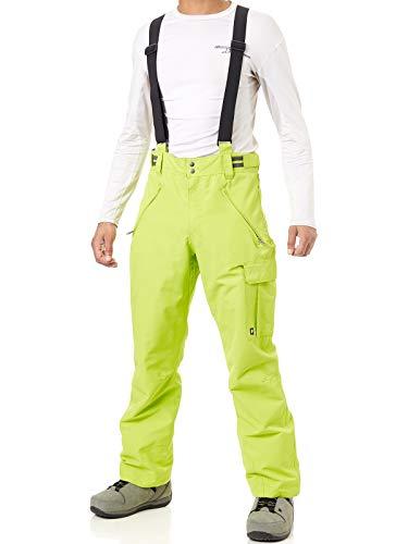 Protest Denysy - Pantaloni da Sci, da Uomo, Uomo, 4710300, Color Lime, L