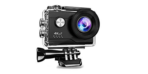 Generico PRO Cam Sport Action Camera 4K WiFi Ultra HD 16MP VIDEOCAMERA con Telecomando