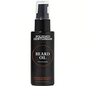 Natural Beard Growth Oil for Men - with Cedarwood & Tea Tree Oil - Easy Beard Dispenser and Pump - Natural Conditioner… 9