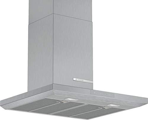 Bosch DWB67LM50 Serie 6 Wandesse / A / 60 cm / Edelstahl / wahlweise Umluft- oder Abluftbetrieb / TouchSelect Bedienung / Silence / Intensivstufe / Metallfettfilter (spülmaschinengeeignet)