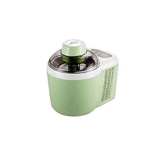 JYDQB Cream Maker, tazón Compacto de Servir y Servir con un congelador de Acero Inoxidable El núcleo CREA un Servicio Suave, Yogurt Helado, Helado (Color : Green)