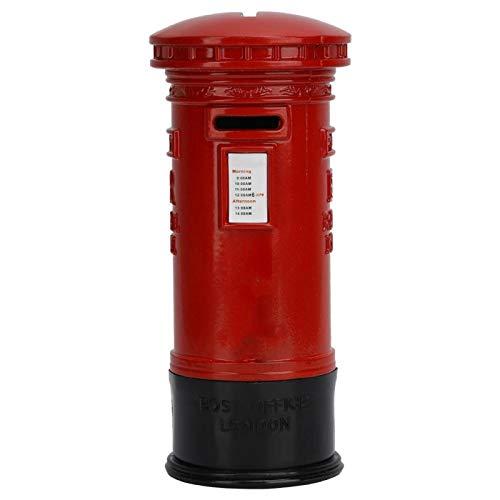 Caja de ahorro de dinero Vintage Metal Londres cabina de teléfono roja olla de ahorro caja de depósito de dinero Banco de monedas decoración de regalo
