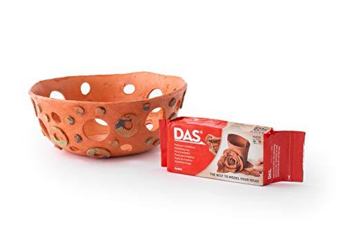 DAS Air-Hardening Modeling Clay, 2.2 Lb. Block, Terra Cotta Color (387600)