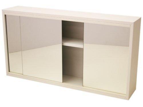 Generic Yanhonguk150730–1115 1yh2921yh Ory Secondes Cabinet M (Factory Blanc Miroir Blanc Mir 66 x 35 x 13 cm pièce CABI 3 Portes de Salle de Bain Ed 3 Portes (Factory Secondes)