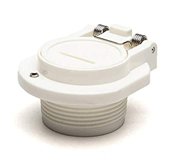 ATIE Pool Free Rotation Vacuum Vac Lock Safety Wall Fitting W400BWHP W400BLGP GW9530 Replacement Fits for Zodiac Hayward Pentair Suction Pool Cleaners
