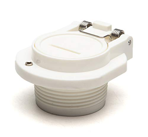ATIE Pool Free Rotation Pool Vacuum Vac Lock Safety Wall Fitting W400BWHP, W400BLGP, GW9530 Replacement Fits for Replaces Zodiac, Hayward, Pentair Suction Pool Cleaners