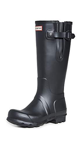 HUNTER Unisex Side Adjustable Gummistiefel, Black, 42 EU