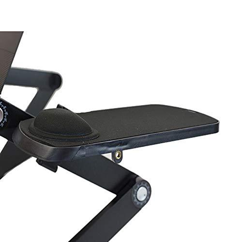 WorkEZ Mouse Pad: Ambidextrous, Adjustable, Removable Tilting, Aluminum Mouse Pad Platform for WorkEZ Ergonomic Laptop Stand, Lap Desk, Standing Desk Photo #2