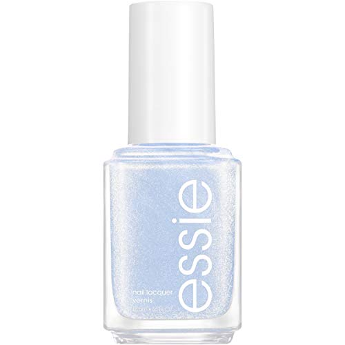 essie Nail Polish, Limited Edition Winter Trend 2020 Collection, Blue Nail Color With A Shimmer Finish, Love at Frost Sight, 0.46 fluid_ounces