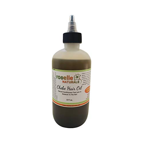 Chebe Hair Oil Made with Authentic Chebe Powder from Chad Africa. Lock in Moisture to your hair. (8oz)