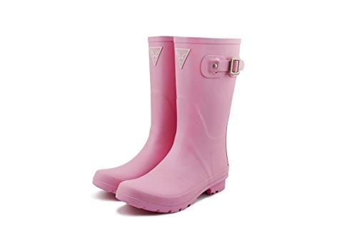 LAPPS Original Damen/Mädchen Gummistiefel/Regenstiefel aus Naturkautschuk - Designed in Finnland, Pink, 37 EU